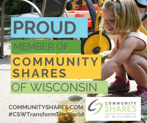 WECA is a proud member of Community Shares of Wisconsin