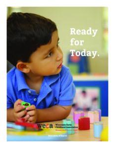 2012 WECA Annual Report Cover