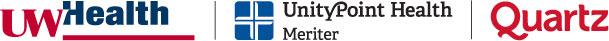 UW Health, UnityPoint Health, Meriter, Quartz