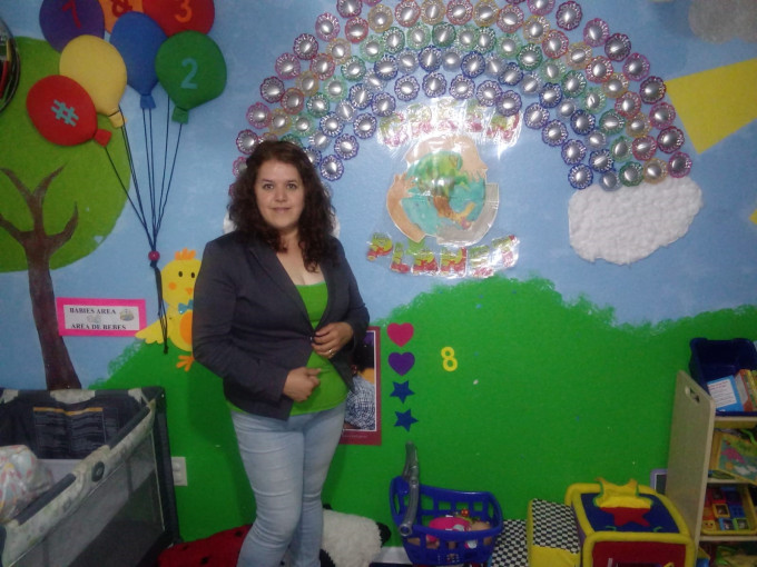 Maria Hernandez: Making a Magical Classroom, One Plastic Bottle at a Time