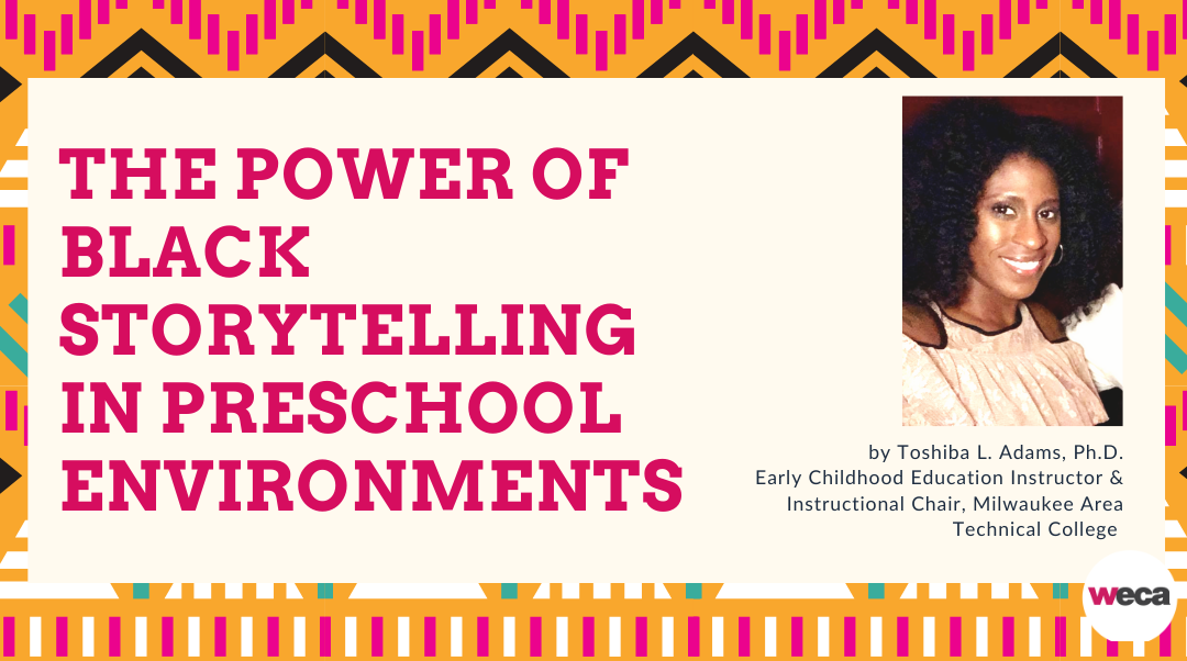The Power of Black Storytelling in Preschool Environments